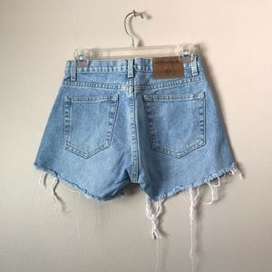 LondonJean Vintage  Distressed High Waist Shorts